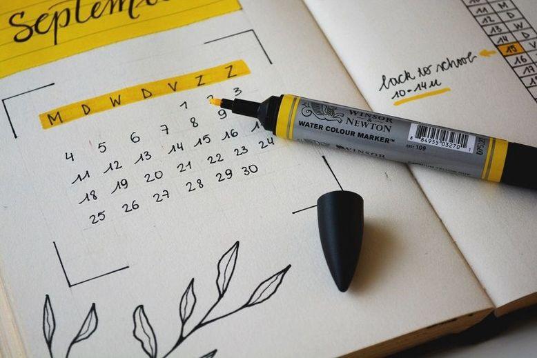Gli avverbi di frequenza inglesi: il bullet journal