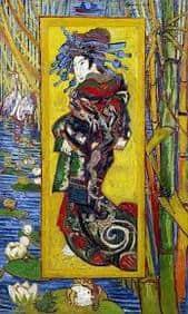 The courtesan quadro dipinto van gogh