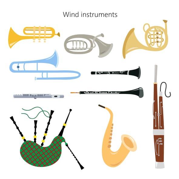 strumenti musicali in inglese